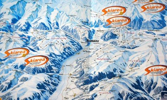 Mariandl Gasthof Pension: Zillertaller kaart