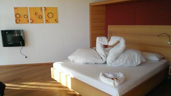 Hotel Der Waldhof: Una gradita sorpresa in camera