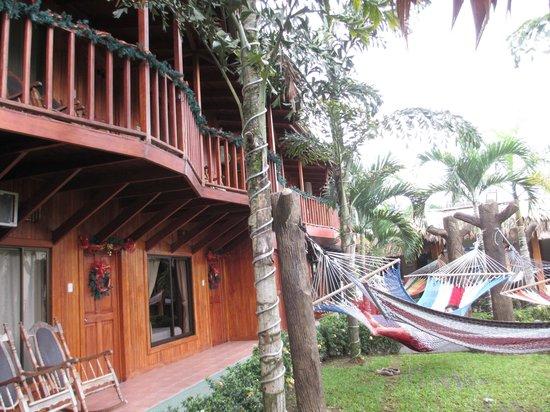 Arenal Hostel Resort: magnifiques boiseries