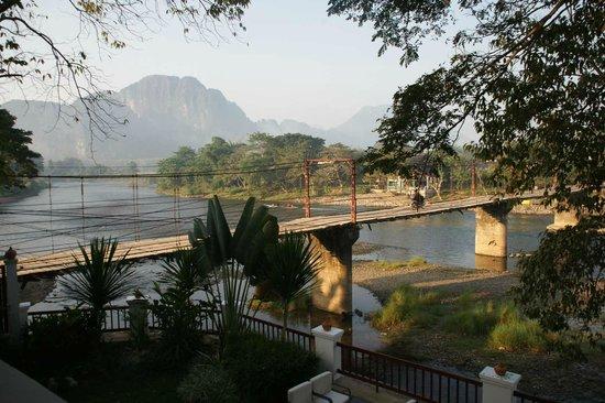 Riverside Boutique Resort: Aussicht auf Nam Song