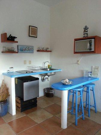 Wa kika: Handy mini-kitchen with everything you need