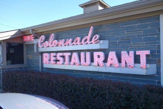 The Colonnade: signage