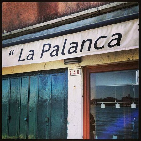 devanture de la Palanca