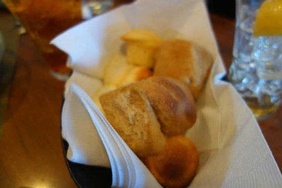 The Colonnade: the bread