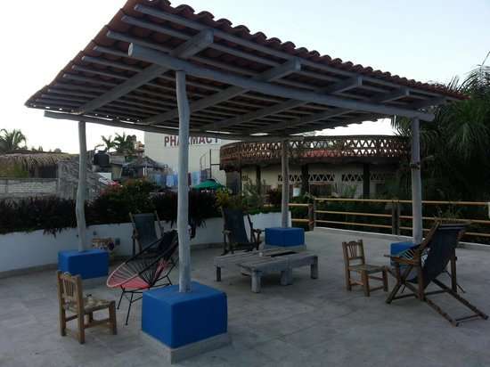 Wa kika: Rooftop terrace can't be beat