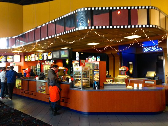 Cinemagic: Refreshments from the Lobby, Passage to individual theaters to the right
