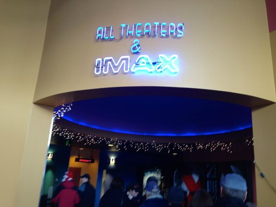 Cinemagic: IMAX Entrance!!!!!