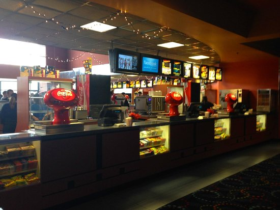 Cinemagic: Eats & Drinks Counter from the inside