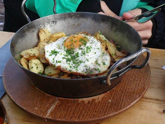 Wedelhutte Hochzillertal: Delicious!