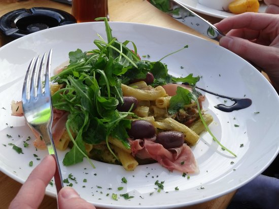 Wedelhutte Hochzillertal: Pasta dish