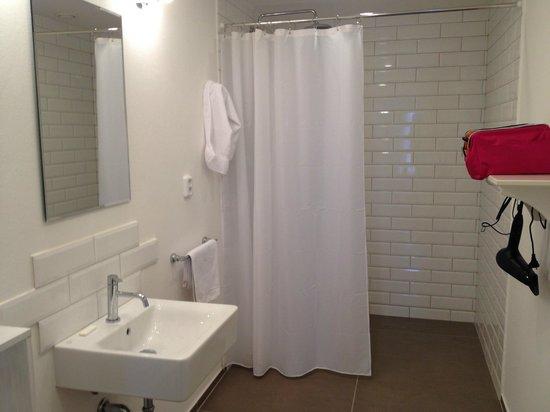 NYX Prague : clean and spacious bathroom
