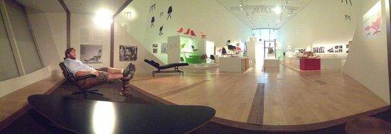 Museo de Arte y Ciencia de Marina Bay Sands: View inside the Charles & Ray Eames exhibit.