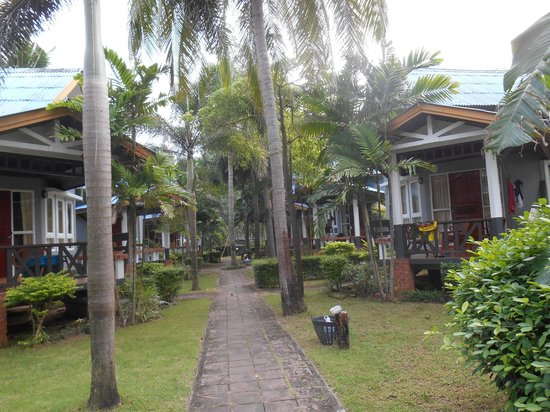 Lanta Palm Beach Resort: le jardin