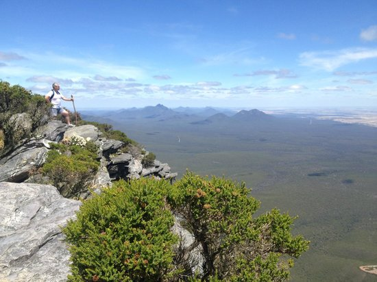 View from the top of Bluff Knoll