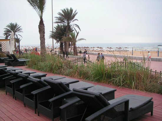 Club Med Agadir : Terrasse