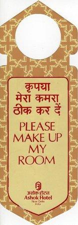 "The Ashok: En mi puerta ""No Molestar"""