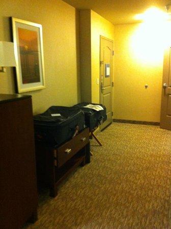 Hampton Inn Santa Barbara/Goleta : Partial view of the room