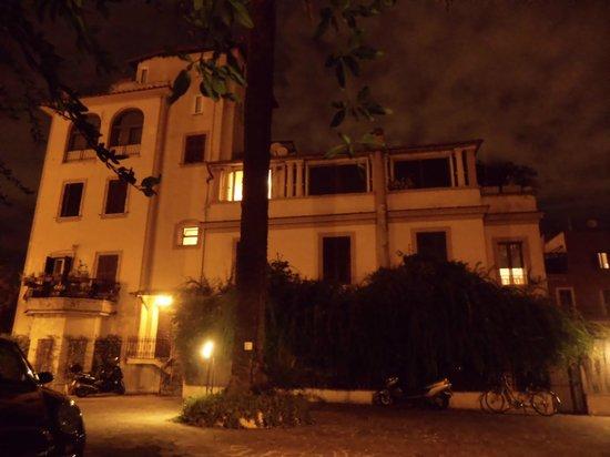 Hotel Imperiale: Rückansicht