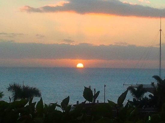 H10 Playa Meloneras Palace: atardecer desde la habitacion