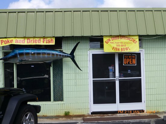 Sun Dried Specialties Fish Bowl : Strictly Local