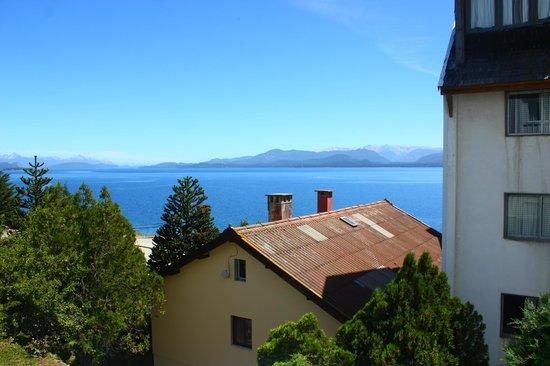 Hotel Ayelen: Vista al Lago Nahuel huapi