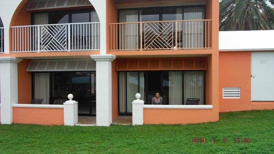 Grotto Bay Beach Resort & Spa: Back view