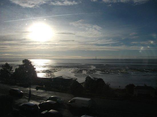 Westcliff Hotel: sunset view