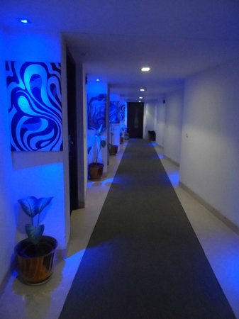 Hotel Taj Resorts : The lovely decorated corridors
