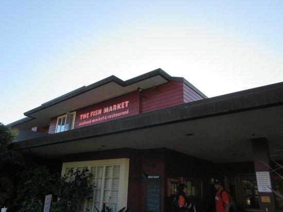The Fish Market: Outside of restaurant