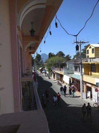 Hotel El Chaparral: View of Calle Satander