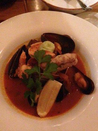 Caiola's: seafood dish