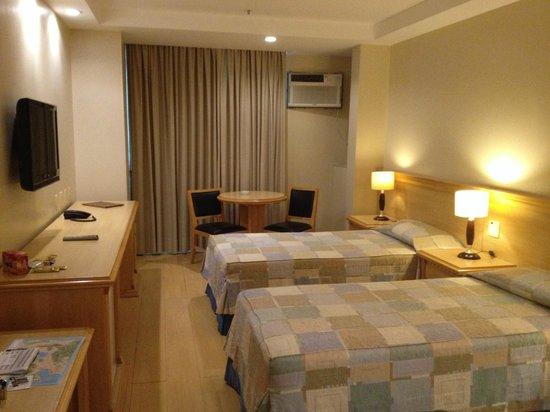 Hotel Mar Palace Copacabana : Quarto