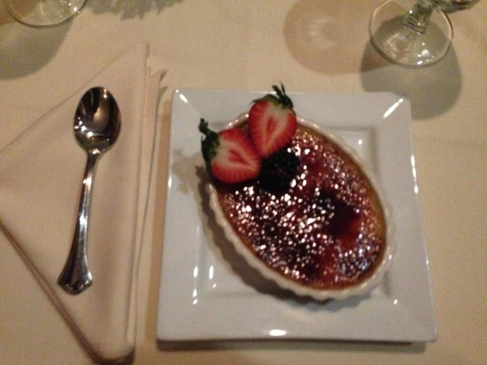 Cranwell Spa & Golf Resort: amazing creme brulee