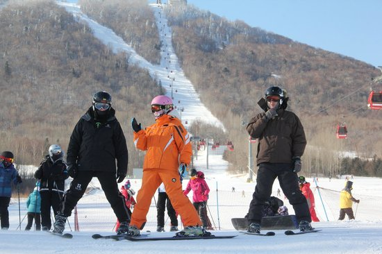 Club Med Yabuli : Walk from your room to the slopes