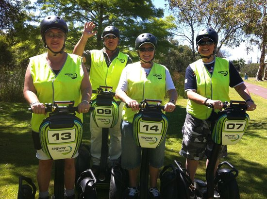 Segway Tours WA - Perth: The four of us are now professionals