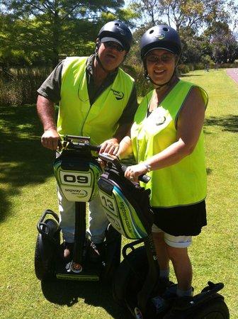 Segway Tours WA - Perth: Mac and Sharyn McCaskey Segway Tours WA