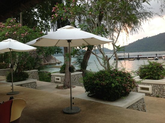 Pangkor Laut Resort : View from breakfast location