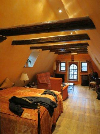 Hotel Gotisches Haus : The top floor room 34