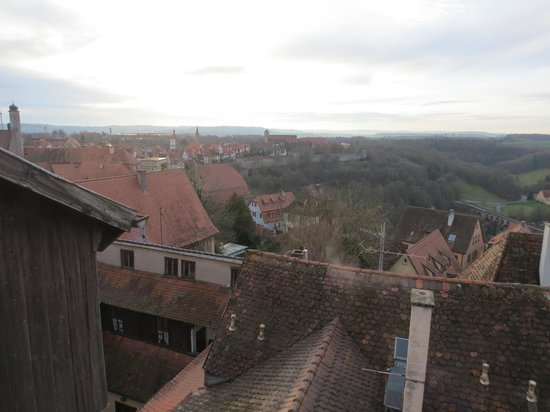 Hotel Gotisches Haus : View from the balcony