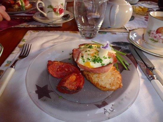 Ounuwhao Harding House: Delicious breakfast