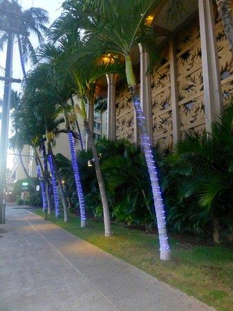 Queen Kapiolani Hotel: Front of hotel