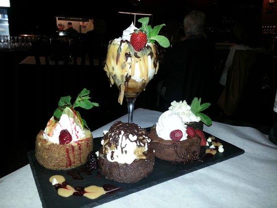 Blaze Bistro: Homemade Desserts.
