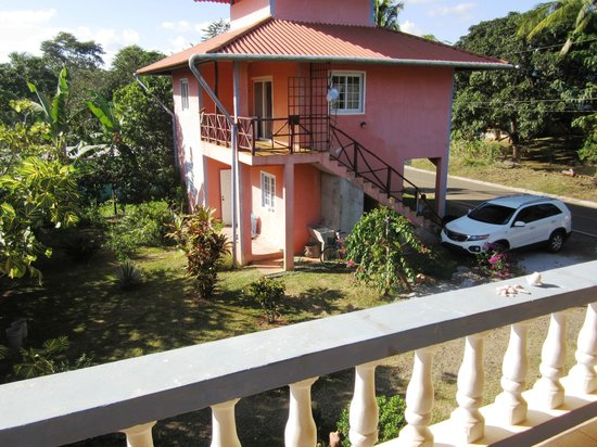 Santa Catalina Inn: View from Balcony