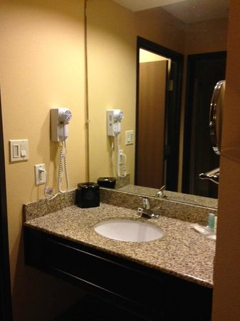 Comfort Inn DFW North / Irving: Sink