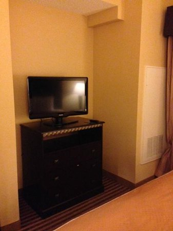 Comfort Inn DFW North / Irving: Television in Bedroom