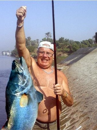 Jolie Ville Hotel & Spa - Kings Island, Luxor : Fishing at the island