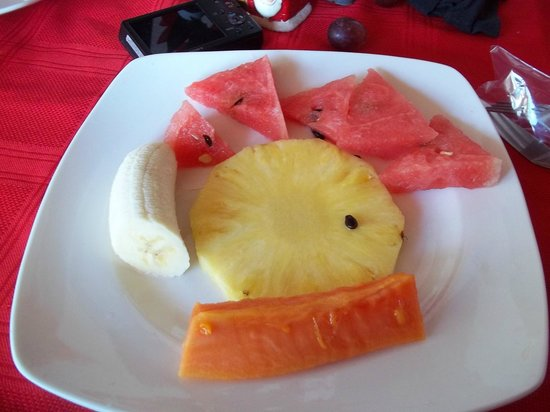 Hotel Javy: Fruits to start