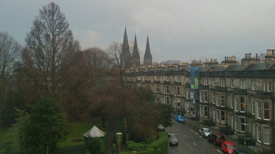 Travelodge Edinburgh Haymarket Hotel: View from room 209