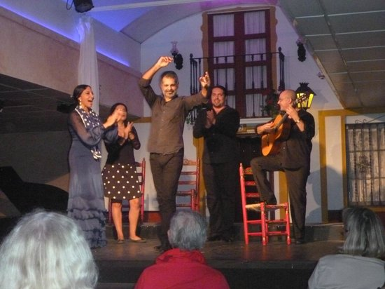 Sevilla de Ópera: El grupo de Flamenco