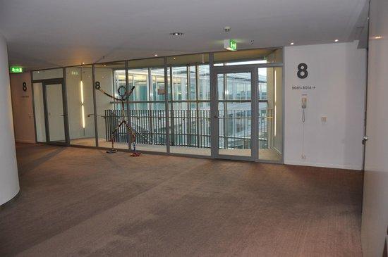 Clarion Hotel Stockholm: エレベーターホール